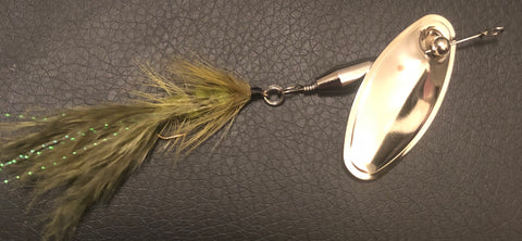 1/4 oz. Magooster with Olive Fly