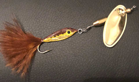 1/4 oz Brown Trout Magooster