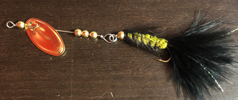 1/8 oz. Black/Olive Fly