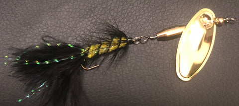 "1/4 oz. Magooster with ""Bumblebee"" Fly"