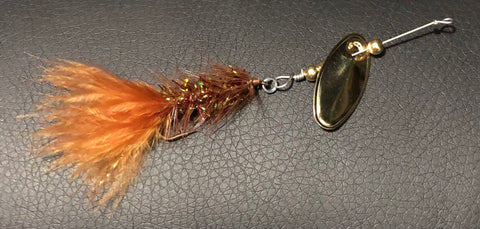 1/8 oz. Magooster with Brown Fly