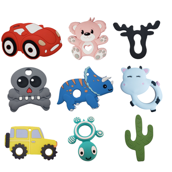 Silicone Teething Products & Toys