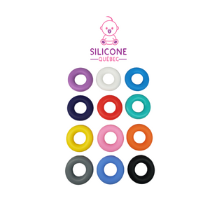 silicone donut ring 42mm ,teething acessories