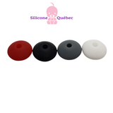 abacus rounded edge silicone beads