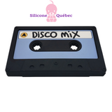 Disco Casette silicone teether