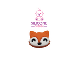 Fox cartoon silicone teething beads