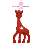 Giraffe 3D silicone teething toy