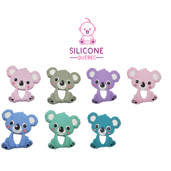 Koala Silicone teething toy