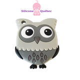 Silicone Owl Teether