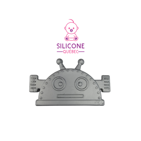Robot Sew on silicone teething corner (Soft)