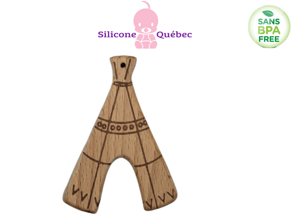 Tipy Natural wooden teether