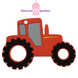 Tractor silicone teething toy