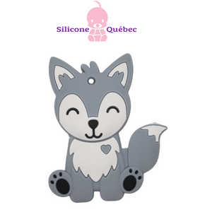 Wolf / Fox  silicone teething toy
