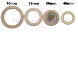 Natural Wood Rings- 40mm-Wooden teething ring