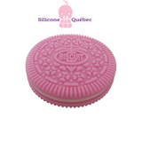 Cookie silicone teether