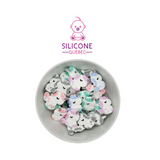 Unicorn cartoon silicone teething beads