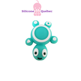 Turtle silicone teething bead