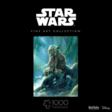 Star Wars - Fine Art Collection - Yoda - 1000 Piece Jigsaw Puzzle - Roll2Learn
