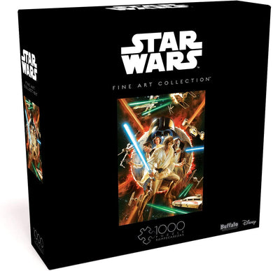 Star Wars Fine Art Collection - Star Wars #1 Comic Variant Cover 1000 Piece Jigsaw Puzzle - Roll2Learn
