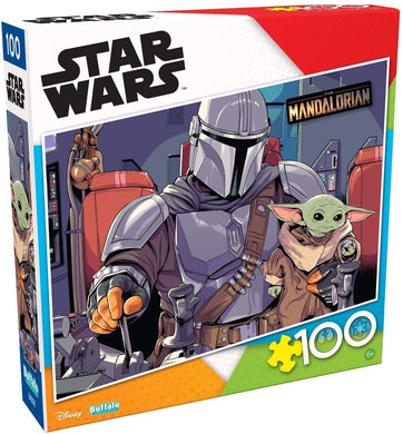 Star Wars - The Mandalorian - The Child - 100 Piece Jigsaw Puzzle - Roll2Learn