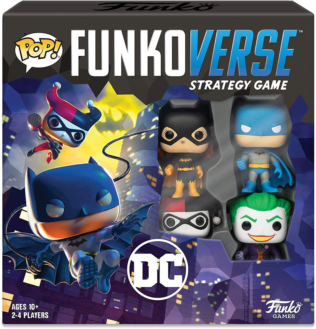 Pop! Funkoverse Strategy Board Game - DC Theme Set - Roll2Learn