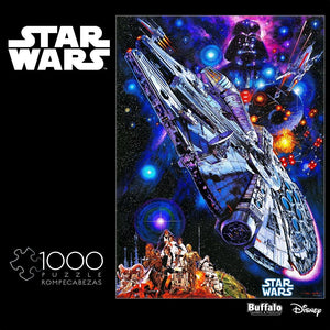 Star Wars Vintage Art - You're All Clear, Kid - 1000 Piece Jigsaw Puzzle - Roll2Learn