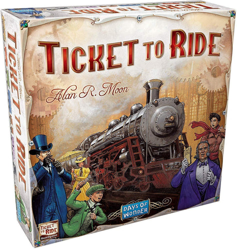Ticket to Ride - Roll2Learn