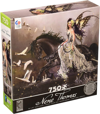 Nene Thomas - Lamentation Of Swans - 750 Piece Jigsaw Puzzle - Roll2Learn
