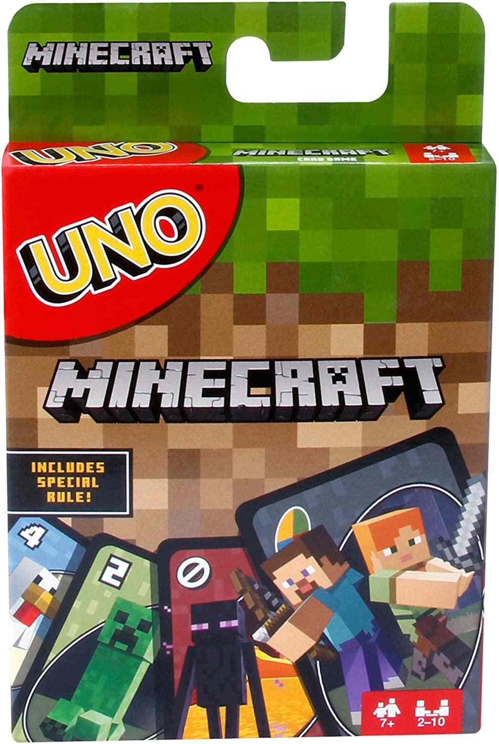 UNO Minecraft Card Game - Roll2Learn