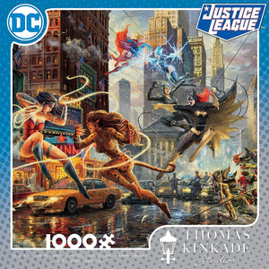 Thomas Kinkade DC Collection - Women of DC Jigsaw Puzzle, 1000 Pieces - Roll2Learn
