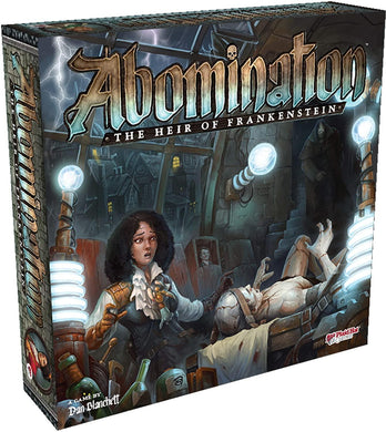 Abomination - The Heir of Frankenstein - Roll2Learn