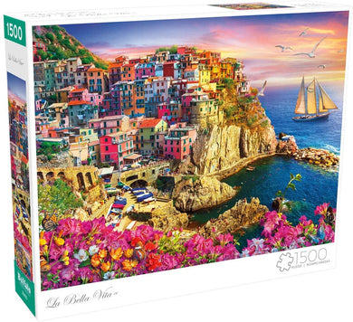 La Bella Vita - 1500 Piece Jigsaw Puzzle - Roll2Learn