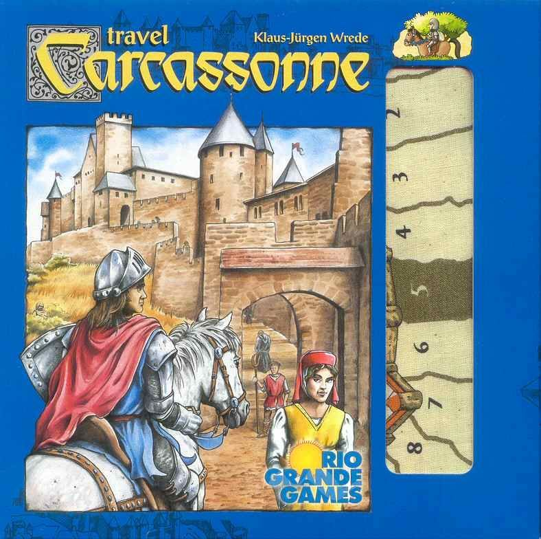 Carcassonne Travel Edition - Roll2Learn