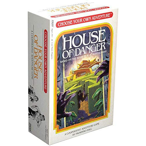 Choose Your Own Adventure - House of Danger - Roll2Learn