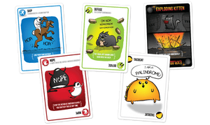 Exploding Kittens - First Edition - Roll2Learn