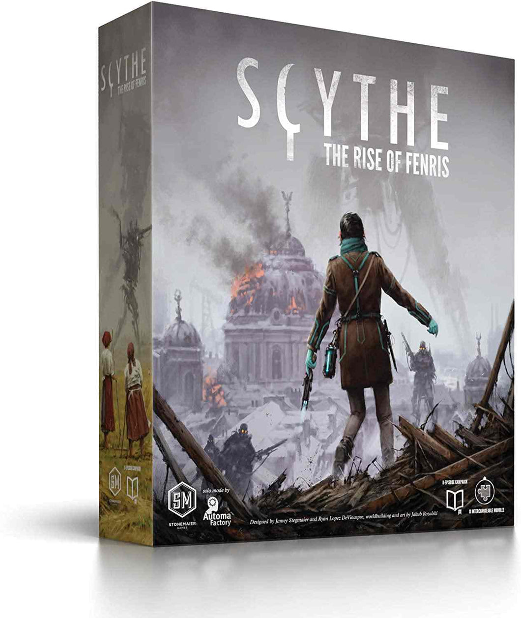 Scythe - The Rise of Fenris Expansion - Roll2Learn