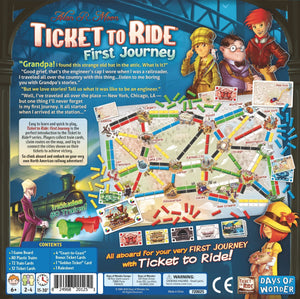 Ticket to Ride - First Journey - Roll2Learn