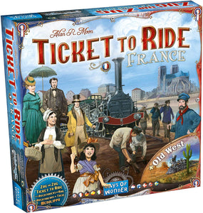 Ticket to Ride - France and Old West Map Collection - Roll2Learn