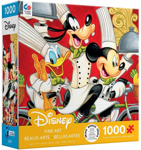 Disney Fine Art Wheeling in Flavor Jigsaw Puzzle, 1000 Pieces - Roll2Learn