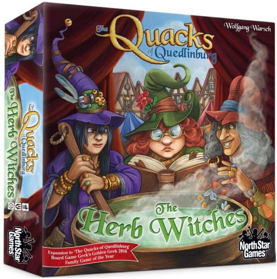 The Quacks of Quedlinburg - The Herb Witches Expansion - Roll2Learn