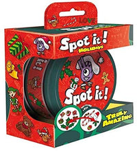 Load image into Gallery viewer, Spot It - Holiday (Small Tin) - Roll2Learn