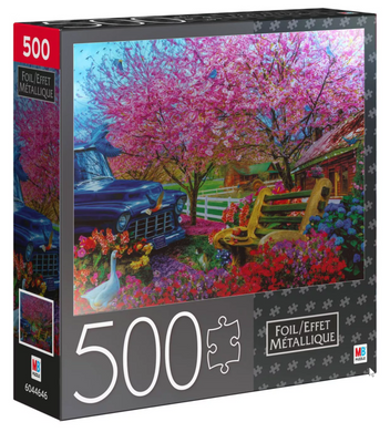 Premium Foil - Home is Where the Heart is Puzzle 500pc - Roll2Learn