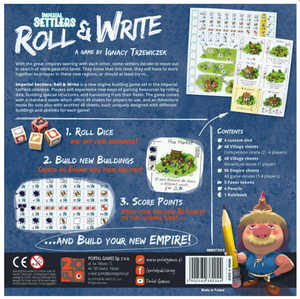 Imperial Settlers - Roll and Write - Roll2Learn