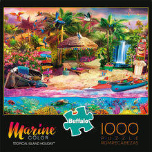 Load image into Gallery viewer, Tropical Island Holiday - 1000 Piece Jigsaw Puzzle - Roll2Learn
