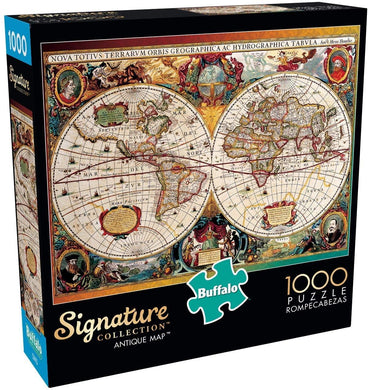 Antique Map - 1000 Piece Jigsaw Puzzle - Roll2Learn