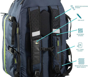 Ultimate Boardgame Backpack - Navy - Roll2Learn