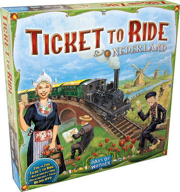 Ticket to Ride - Nederland Map Collection Four - Roll2Learn