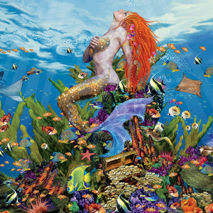 Ocean Nymph Jigsaw Puzzle, 750 Pieces - Roll2Learn