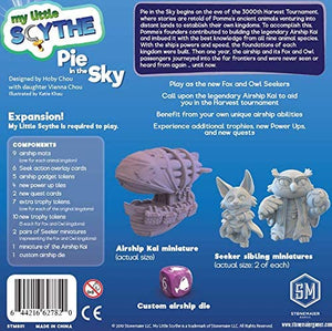 My Little Scythe - Pie in the Sky expansion - Roll2Learn