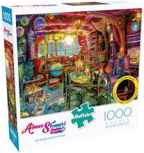 Load image into Gallery viewer, Aimee Stewart - The Pirate Captain's Dream - 1000 Piece Jigsaw Puzzle with Hidden Images - Roll2Learn